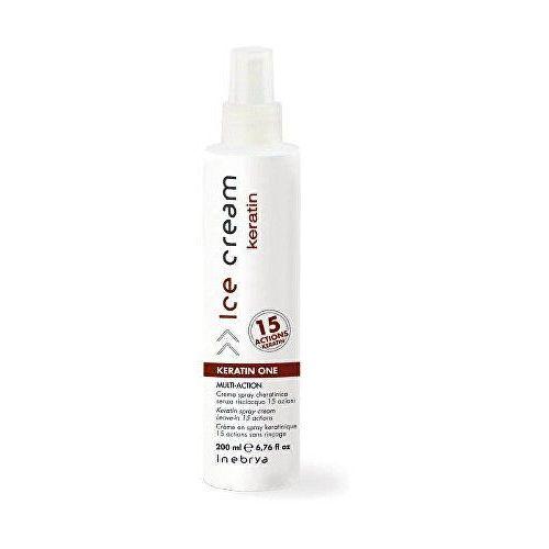 Inebrya keratin spray keratynowy 15 w 1 (keratin spray cream leave-in 15 actions) 200 ml