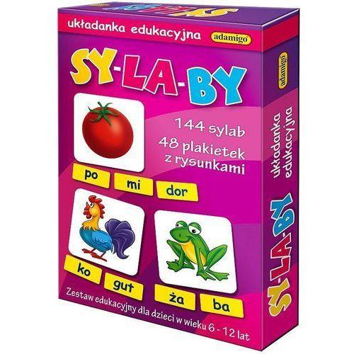 Sylaby układanka edukacyjna marki Adamigo