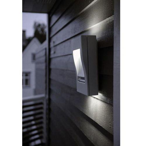 Lampa ścienna zewnętrzna 1863 gr, 2x9 w, g23, ip54, (dxsxw) 19.8 x 9.5 x 30.5 cm marki Eco-light