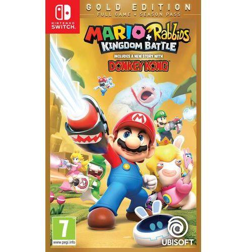 Gra NINTENDO SWITCH Mario + Rabbids Kingdom Battle (Edycja Gold)