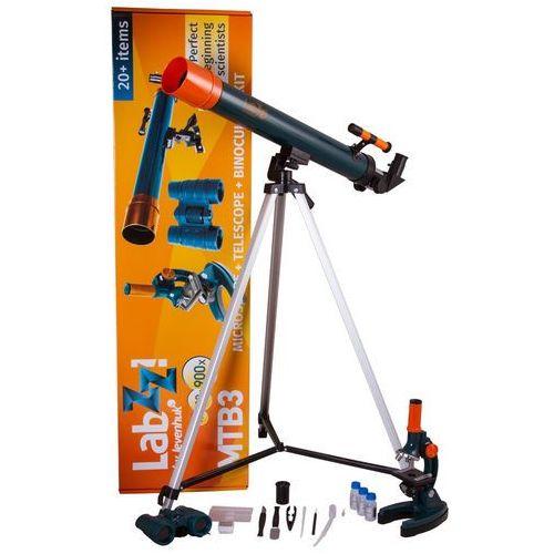 Zestaw LEVENHUK LabZZ MTB3 z mikroskopem, teleskopem i lornetką + Zamów z DOSTAWĄ JUTRO! + DARMOWY TRANSPORT! (0611901504889)