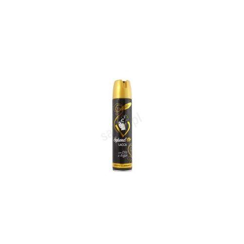 Splend'Or Efekt rozjaśnienia - Lakier do włosów z olejkiem arganowym (400 ml)