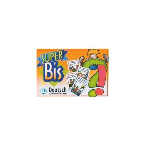 Gra językowa Niemiecki Super Bis Deutsch. Opr. karton, praca zbiorowa