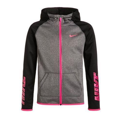 Nike Performance Kurtka sportowa black heather/black/hyper pink - oferta [a571e40c71a2e731]