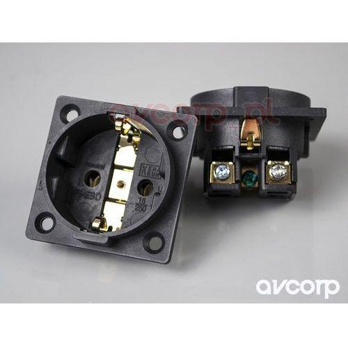 Furutech FI-E30 (G) - gniazdo montażowe schuko (EU) - pozłacane