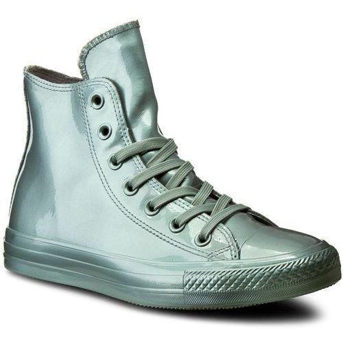 Converse Sneakersy - ctas metallic rubber hi 553268c metallic glacier/glacier