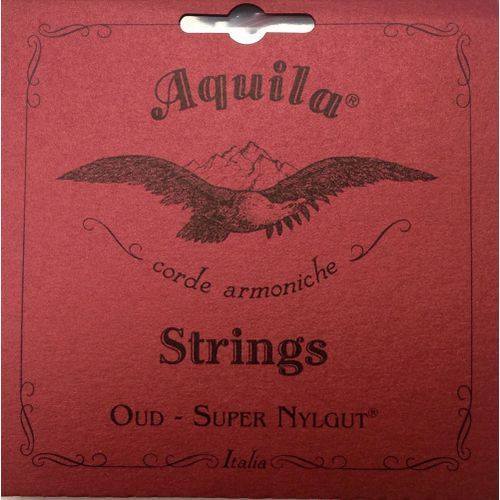 Aquila new nylgut oud set, 11string arabic tuning, light tension