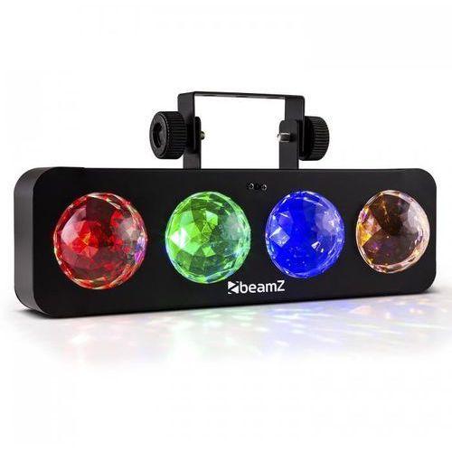 DJ Bank BX Efekt świetlny LED 4 x RGBA-LED Pilot czarny