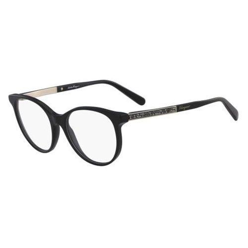 Salvatore ferragamo Okulary korekcyjne sf 2805r 001