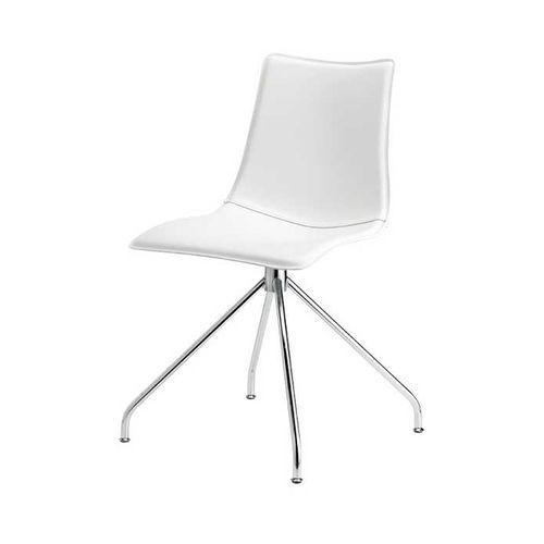 Machina Meble ZEBRA POP Krzesło Tapicerowane białe - 2646-T455 - oferta [b5c54f7f17e53434]