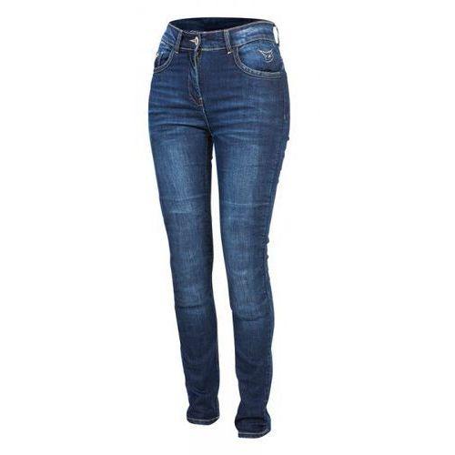 Spodnie jeans rebelhorn lisa lady skinny blue marki Rebelhorn 2018