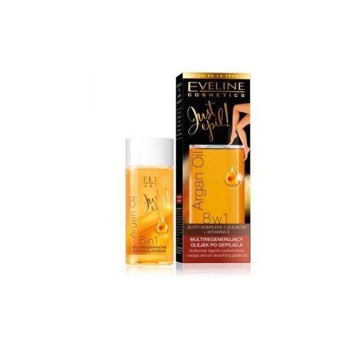 Eveline Argan Oil Just Epil Multiregeneracyjny olejek po depilacji 8w1 75 ml - produkt z kategorii- pozostałe środki do depilacji