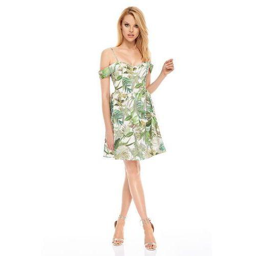 Sukienka havana w kolorze kremowym marki Sugarfree