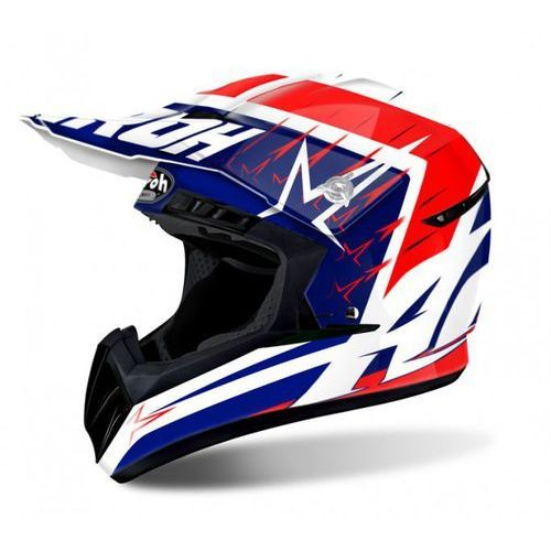 Airoh switch startruck red gloss kask off-road