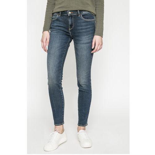 - jeansy skinny shadow light marki Wrangler