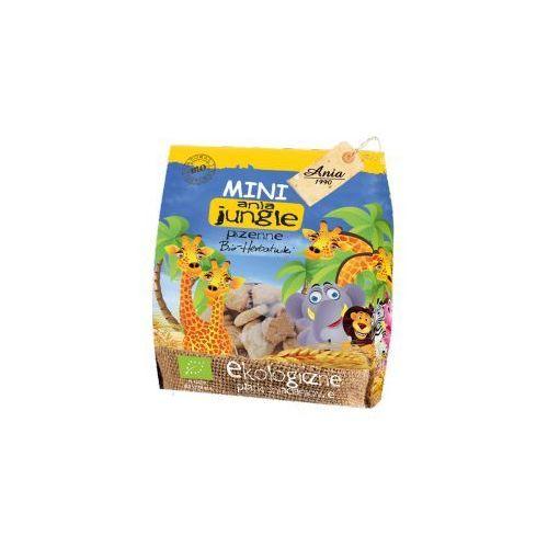 Herbatniki mini jungle pszenne bio 100 g ania marki Holle