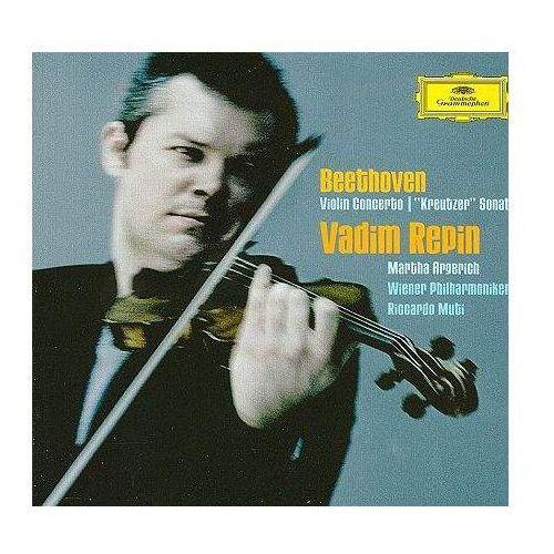 BEETHOVEN:VIOLIN CON.OP.61,SONATA KREUTZ - Vadim & Martha Argerich Repin (Płyta CD)