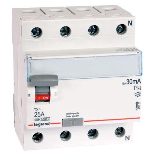 Wyłącznik różnicowoprądowy Legrand 4P 40A 0,03A typ AC P304 411708, LE-411708