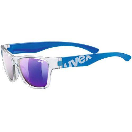 sportstyle 508 kids okulary rowerowe dzieci niebieski 2018 okulary przeciwsłoneczne dla dzieci marki Uvex