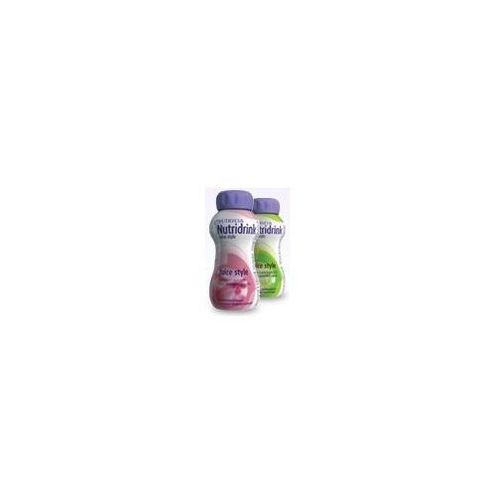 NUTRIDRINK Juice Style smak truskawkowy 200ml (lek witaminy i minerały)