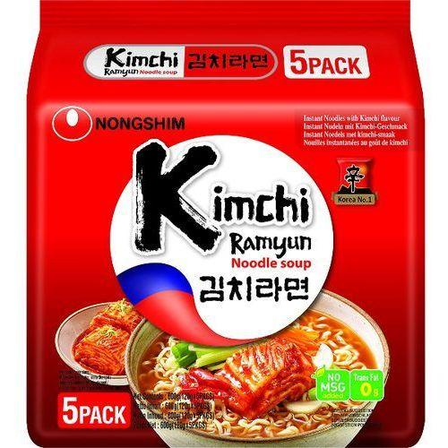 Zupa makaronowa Kimchi Ramyun, ostra 5 x 120g - Nongshim