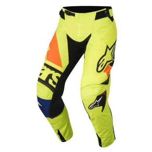 Spodnie alpinestars techstar factory s8 ye/bl/bl/or marki Alpinestars mx