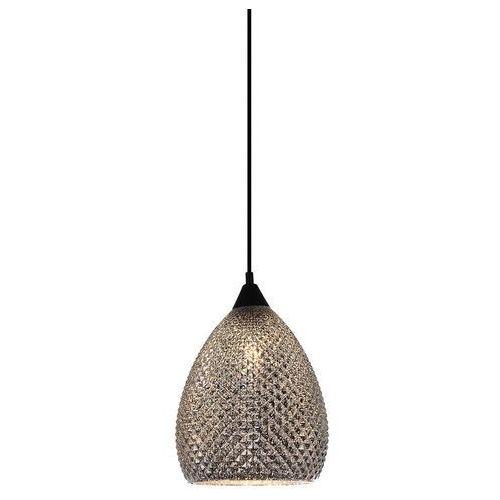 Lampa wisząca saniya mdm3349/1 bk+sl zwis 1x40w e27 czarna / srebrna marki Italux