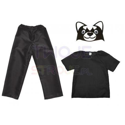 5c784fe2edb548 Strój kot 116-128 3el marki Twojestroje.pl 34,99 zł STRÓJ KOTW skład  kociego stroju wchodzą:- czapka filcowa kotka- czarna bluzeczka- czarne  spodnie na ...