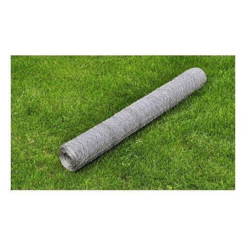 Siatka, ogrodzenie, cynkowane, 1x25 m, 0,75 mm - produkt z kategorii- przęsła i elementy ogrodzenia