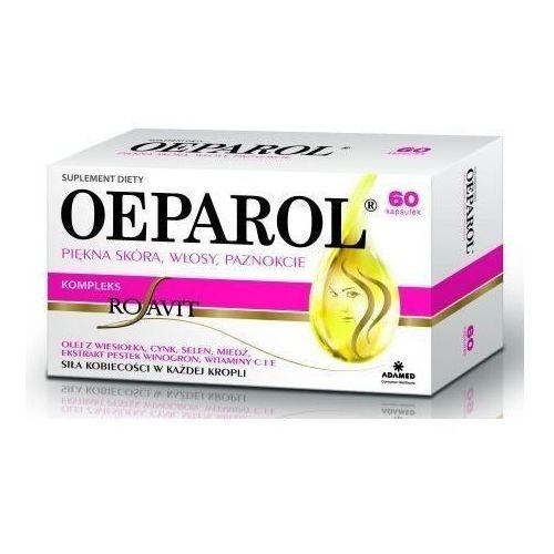 Kapsułki OEPAROL Piękna Skóra Włosy Paznokcie x 60 kapsułek