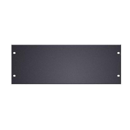 parts 87224 stl - panel z otworami do szafy rack w kształcie litery u, 19″, 4u, stal marki Adam hall