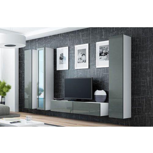 Vilalba 15 nowoczesna meblościanka na wysoki połysk marki High glossy furniture