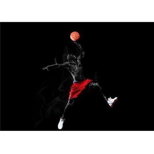 Wodoodporna Fototapeta Wysokiej Jakości (150x85cm) - dunker czarny, Basketo z SPORT-TRADA
