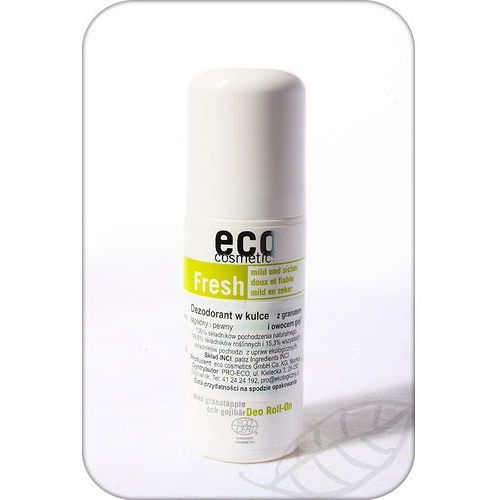 Eco Cosmetics: dezodorant w kulce z granatem i owocem goji BIO - 50 ml
