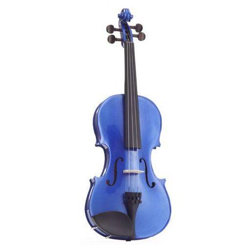 Stentor 1401ABA skrzypce 4/4 Harlequin, zestaw, niebieski