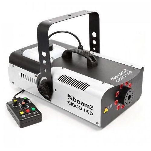 S1500led wytwornica mgły 1500 w 9 diod led rgb 3 w dmx zbiornik 2,5 l marki Beamz