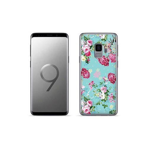 Etuo fantastic case - samsung galaxy s9 plus - etui na telefon fantastic case - różyczki na miętowym tle marki Etuo.pl