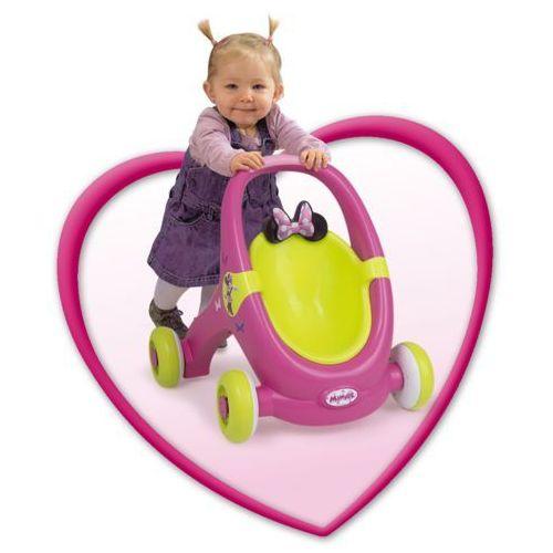 Smoby Mój Pierwszy Wózek Dla Lalki I Chodzik Minnie 2W1 - oferta [1561dda1af13d461]