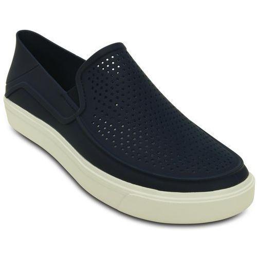 Crocs buty citilane roka slip-on m navy/white 46-47 (m12)