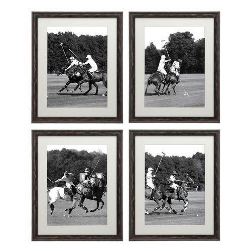 EICHHOLTZ Polo Cup Zestaw Czterech Obrazów 55x45 cm - 07375 (obraz)