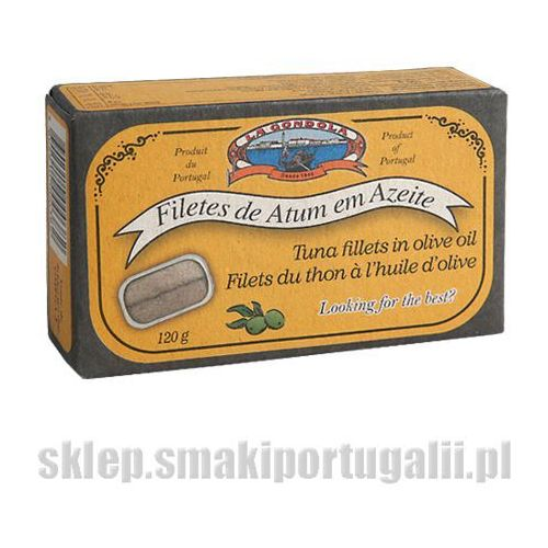 Filet z tuńczyka portugalski w oliwie 125g marki La gondola