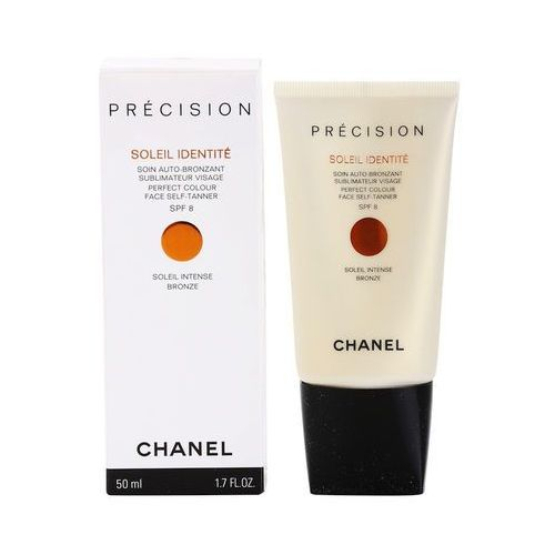 précision soleil identité samoopalający krem do twarzy spf 8 odcień bronze (perfect colour face self-tanner) 50 ml marki Chanel