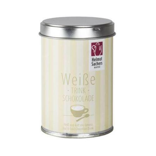 Sachers 250g biała czekolada na gorąco i na zimno puszka marki Helmut sachers kaffee