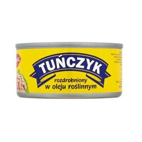 185g tuńczyk rozdrobniony w oleju roślinnym marki Graal