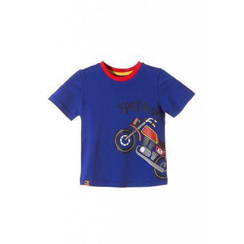 Koszulka chłopięca z motocyklem 1i3608 marki 5.10.15.