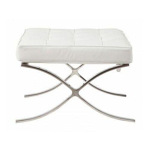 D2.design Podnóżek ba1 inspirowany barcelona - biały (5902385714938)
