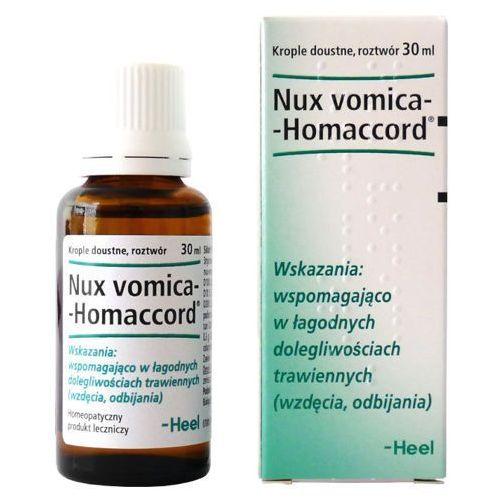 NUX-VOMICA HOMACCORD krople 30ml z kategorii Pozostałe zdrowie