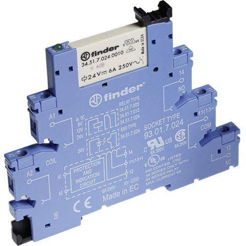 Przekaźnikowy moduł sprzęgający Finder 38.61.0.024.0060, 38-61-0-024-0060