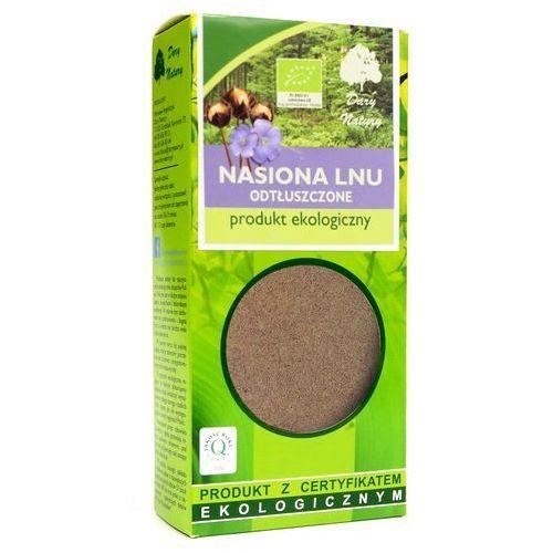Dary Natury: len mielony odtłuszczony, siemię lniane mielone BIO - 100 g (5902741006158)