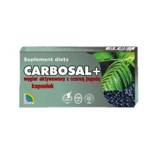 CARBOSAL+ Węgiel z czarną jagodą x 20 kapsułek